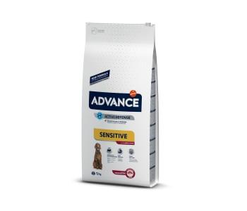 Advance Dog All Breeds Adult Sensitive 12кг - агнешко и ориз