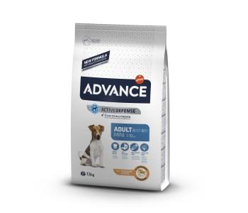 Advance Dog Mini Adult 7.5кг - пилешко и ориз