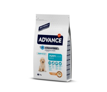 Advance Dog Maxi Puppy 3кг - пилешко и ориз