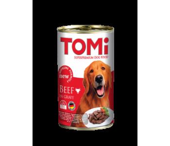 Tomi консерва за куче 1200г - говеждо