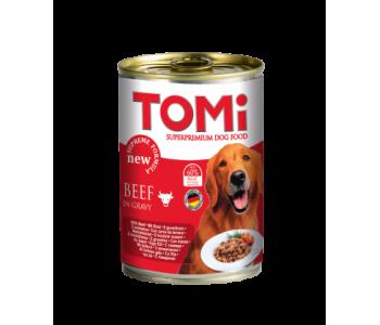 Tomi консерва за куче 400г - говеждо