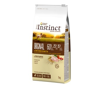 True Instinct ORG Chicken - MINI adult 7kg