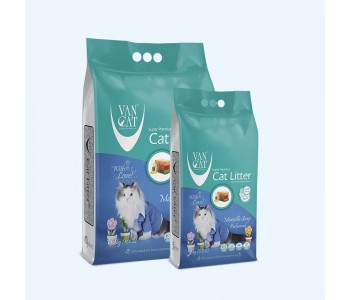 VAN CAT бял бентонит - марсилски сапун 5кг