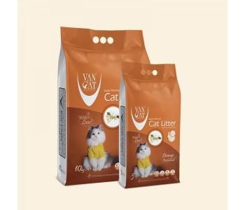 VAN CAT бял бентонит - портокал 5кг